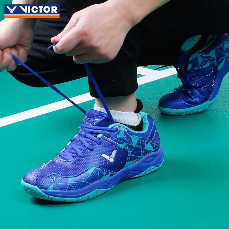 新品VICTOR胜利羽毛球鞋362 正品维克多男女鞋专业训练鞋透气耐磨