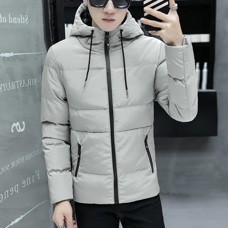 冬季男士加绒加厚中长款棉衣外套2017新款棉服韩版潮流冬装小棉袄