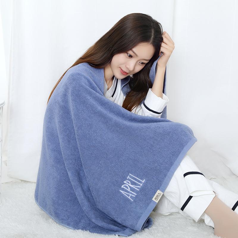浴巾纯棉成人吸水柔软不掉毛大号可爱学生韩版毛巾女洗脸套装家用