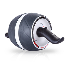 单轮健腹轮腹肌轮回弹收腹巨轮俯qu12撑滚轮ui运动健身器材