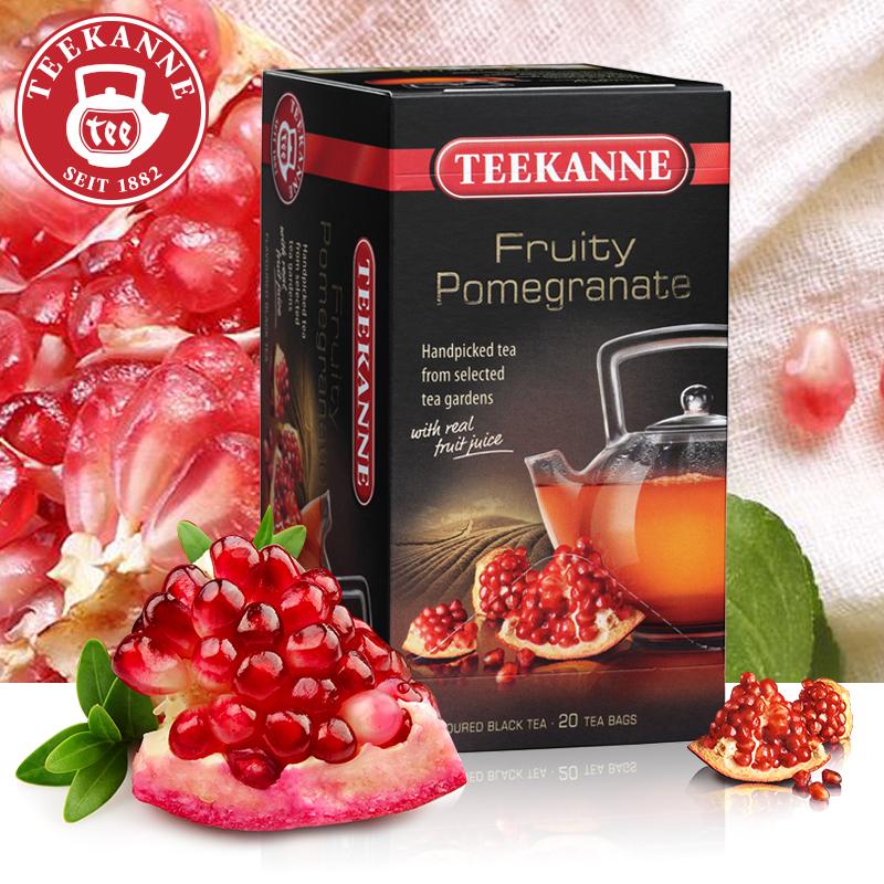 Teekanne 德国进口红石榴果味红茶 红茶包 水果茶 花果茶 袋泡茶