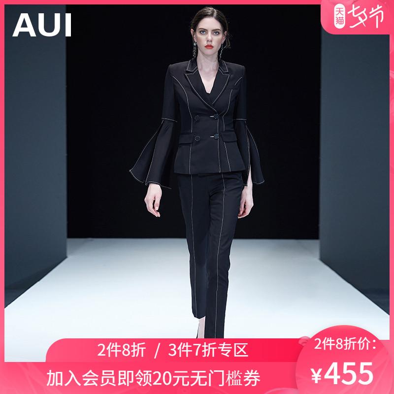 欧货气质御姐套装女2020春装轻熟风女装新款时尚洋气小西装两件套