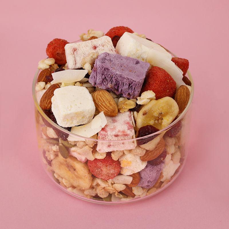 优品康麦片水果坚果燕麦片早餐冲饮即食酸奶果粒代餐懒人速食食品