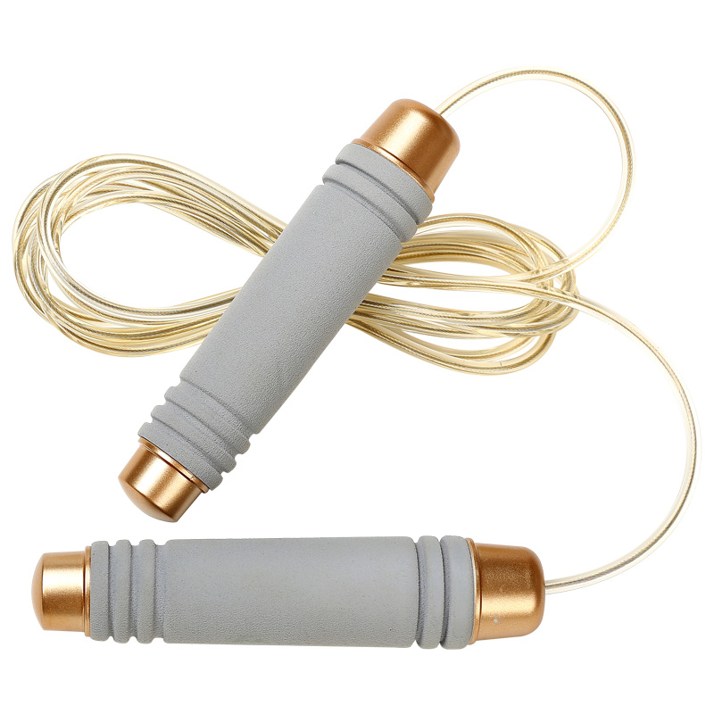 跳绳健身减肥女性运动成人瘦身男儿童中考专用钢丝计数专业绳跳神