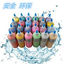 批发丙烯颜料大瓶ra500MLrv防水diy手绘石膏彩绘布艺墙体涂鸦