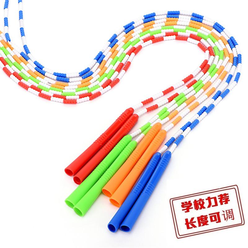 儿童跳绳长绳小学生成人花样绳子幼儿园儿童训练考试专业竹节跳绳