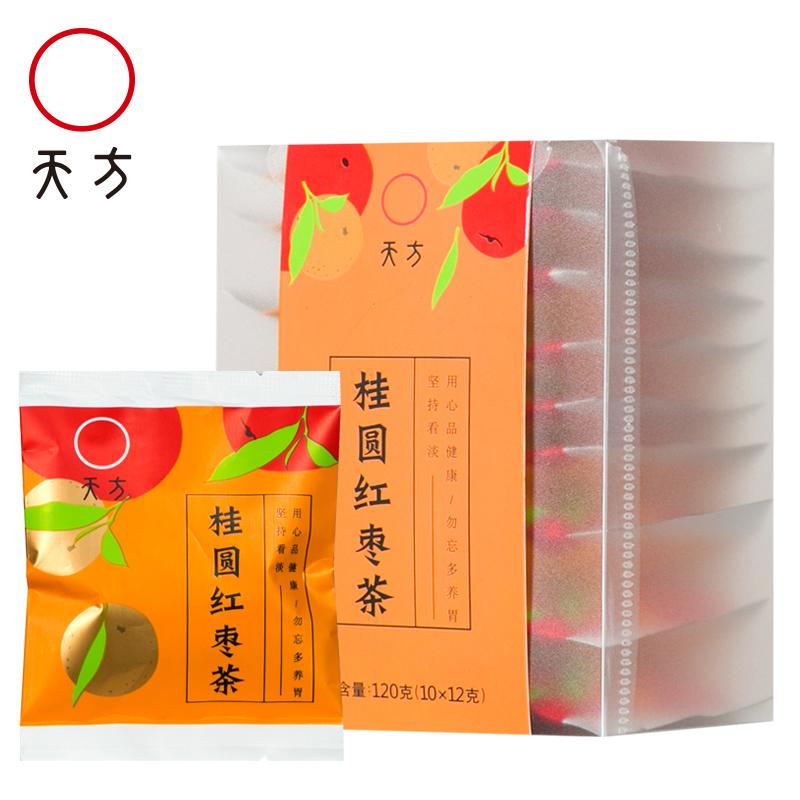 【买1发2盒】桂圆红枣茶八宝菊花茶花草茶红枣桂圆陈皮绿茶120g