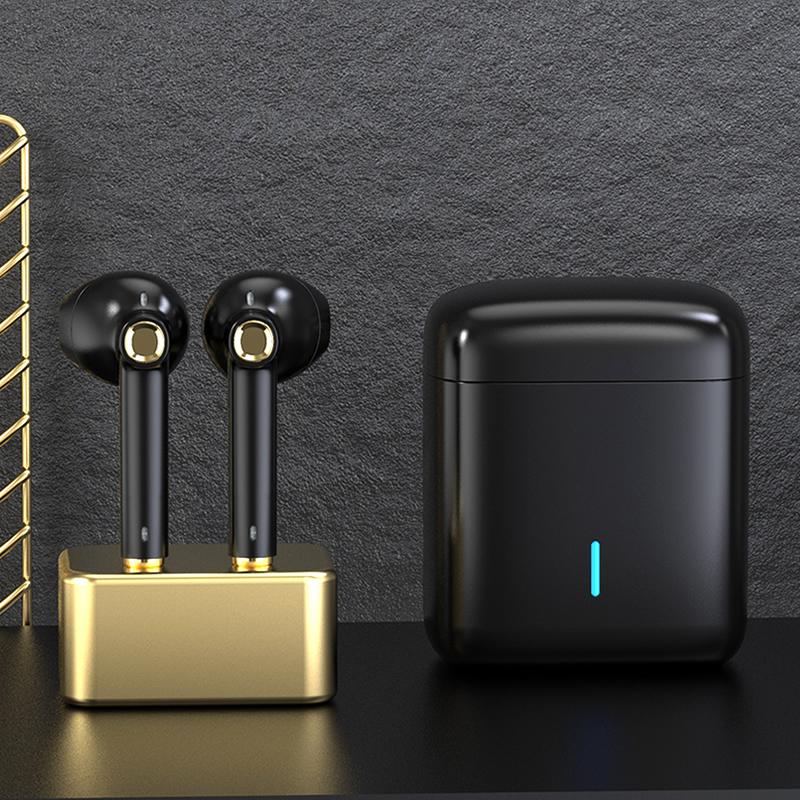 【黑金限量版 原装正品】iKF Find真无线蓝牙耳机5.0双耳无线单挂半入耳塞式运动跑步一对通适用苹果华为男女
