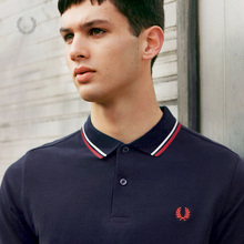 FRED PERRY Men's POLO Shirt 2009 Summer New Fashion Leisure Ear Flip Collar Short Sleeve M3600XM