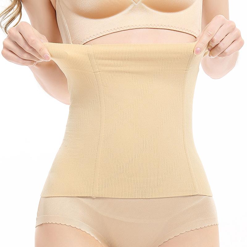 产后束缚神器收腹束腰带塑腰不瘦身燃脂塑身衣束腹女塑形夏季薄款