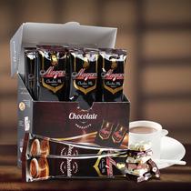 摩岛香浓热巧克力味可可粉原味烘焙速溶冲饮cocoa朱古力30g*12条
