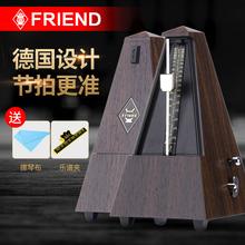 富兰德机械节拍器吉他钢琴古2k10(小)提民55节拍器琴精准打拍