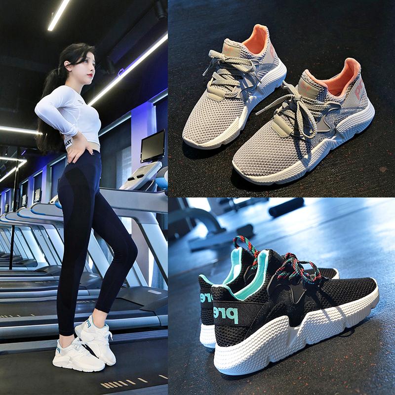 健身房运动鞋女2019新款室内透气轻便软底减震深蹲跑步机专用跑步