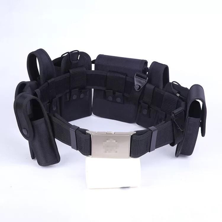 正品尼龙多功能腰带八件套装备巡逻带保安执勤战术腰带