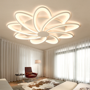 Living room headlights simple modern atmosphere home decoration round 2019 new high-end led bedroom lights ceiling lamp