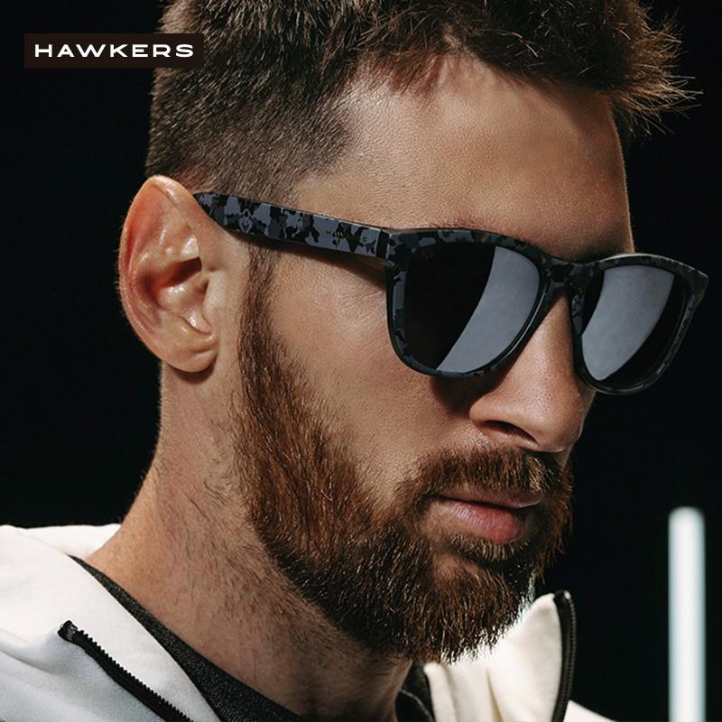 Hawkers 男女同款太阳镜梅西联名防紫外线新款墨镜男士HMOTR02AF