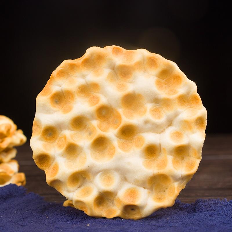 【买一送一共两箱】待见山西石头饼2000g原味石子馍干无添加蔗糖