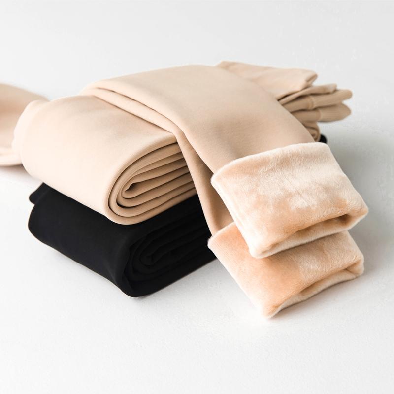 光腿肉色打底裤加绒加厚女丝袜秋冬季外穿肤色神器保暖隐形连裤袜满28元减10元