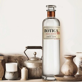 复古且小众 西班牙原瓶Botica Gin药剂师系列金酒杜松子酒金汤力