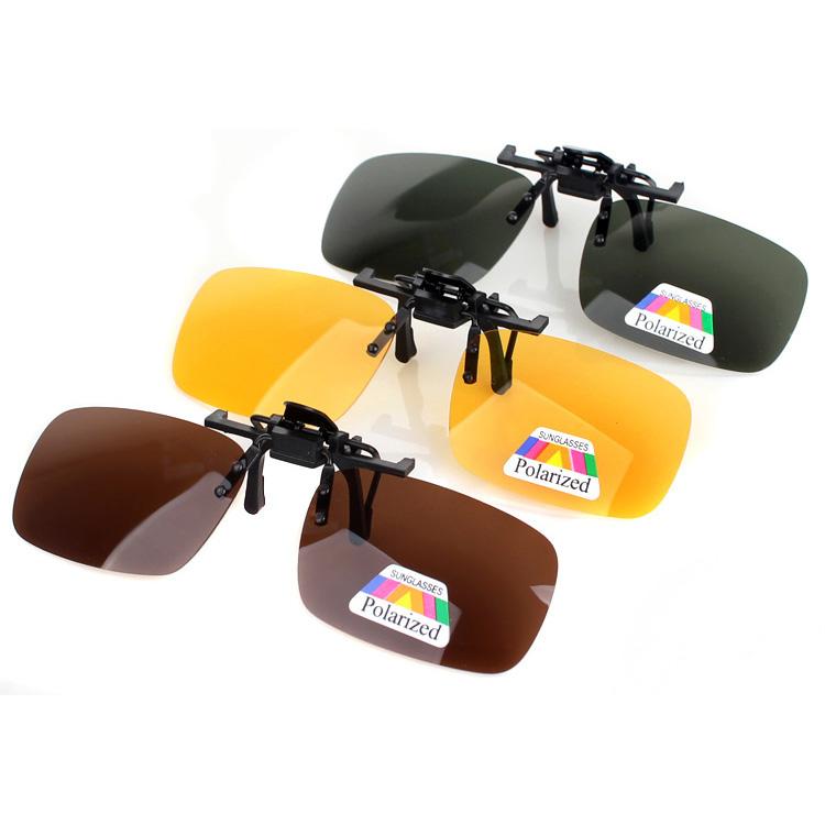 司机护目镜防眩镜开车眼镜汽车防炫光偏光镜遮阳太阳镜夹片夜视镜