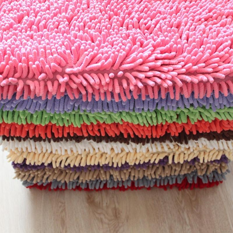 嘉睿地毯客厅茶几卧室家用床边毯飘窗防滑吸水地垫雪尼尔地毯房间