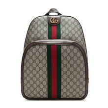 Gucci / Gucci men's ophidia series artificial canvas medium backpack 547967 9u8bt