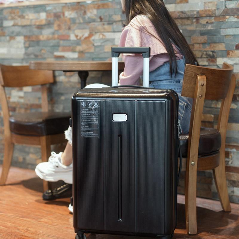 西罗拉pc防刮拉杆箱旅行箱24行李箱密码箱包皮箱子万向轮26寸男女