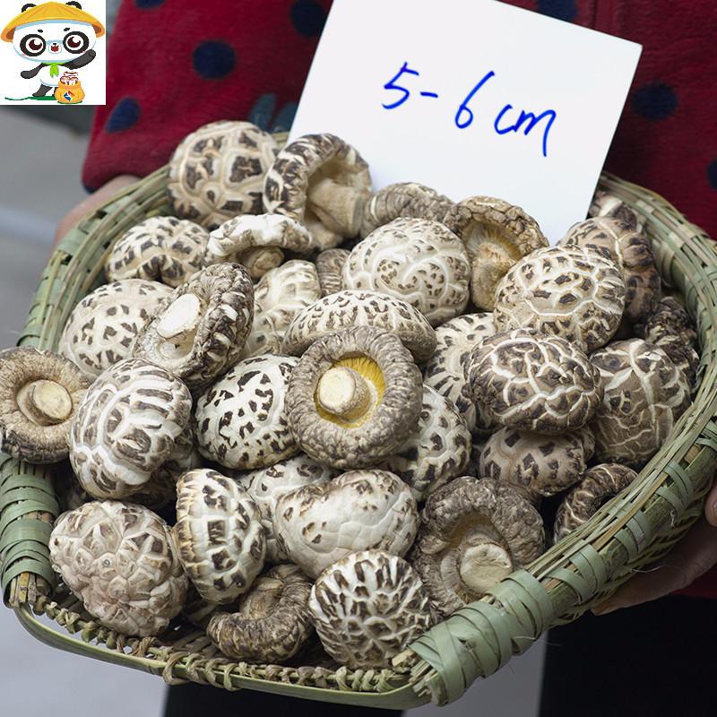 随州特产花菇干货500g包邮房县小香菇特级野生一斤冬菇营养菌菇