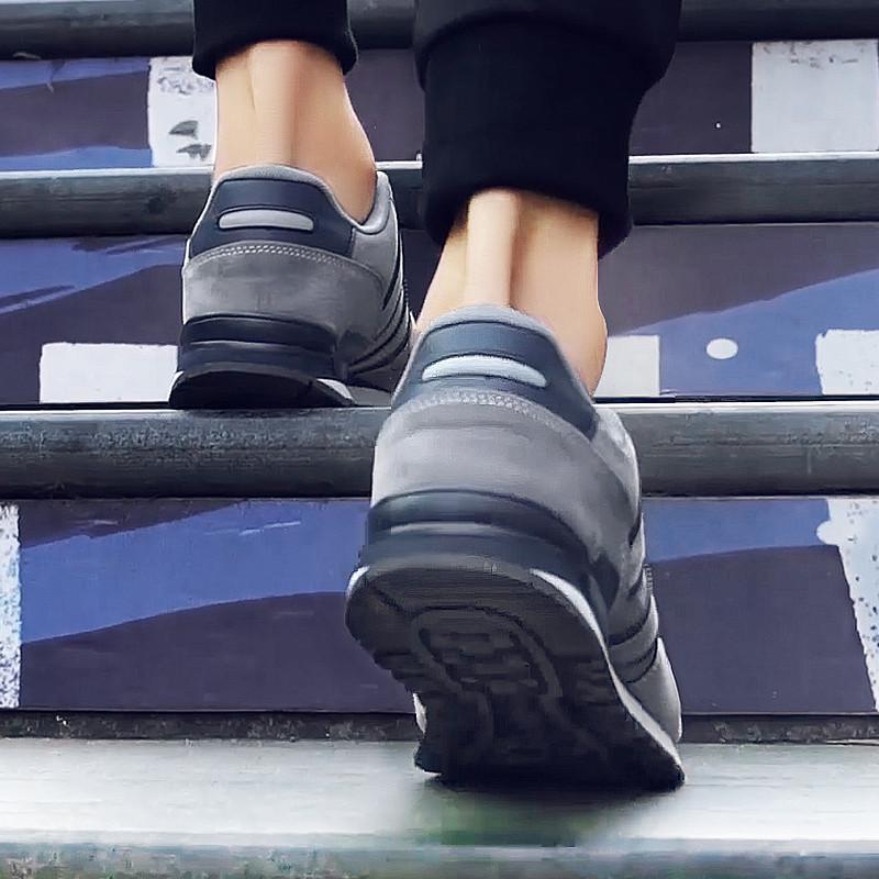 鞋子男潮鞋2018春季透气跑步运动鞋男韩版学生休闲板鞋复古阿甘鞋