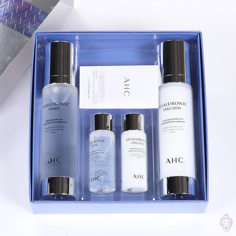 AHC神仙水套装 B5精华爽肤水 乳液 套盒 补水保湿 敏感痘肌破尿酸