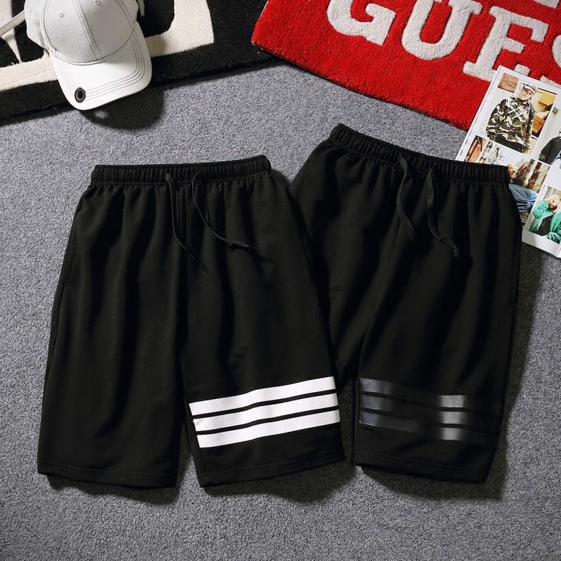 运动短裤男跑步健身夏季休闲五分裤薄款学生宽松韩版青少年篮球裤