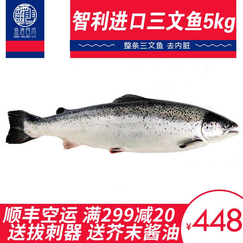 进口三文鱼整条10-12斤新鲜大西洋鲑鱼鲜活日料刺身冷冻辅食即煎