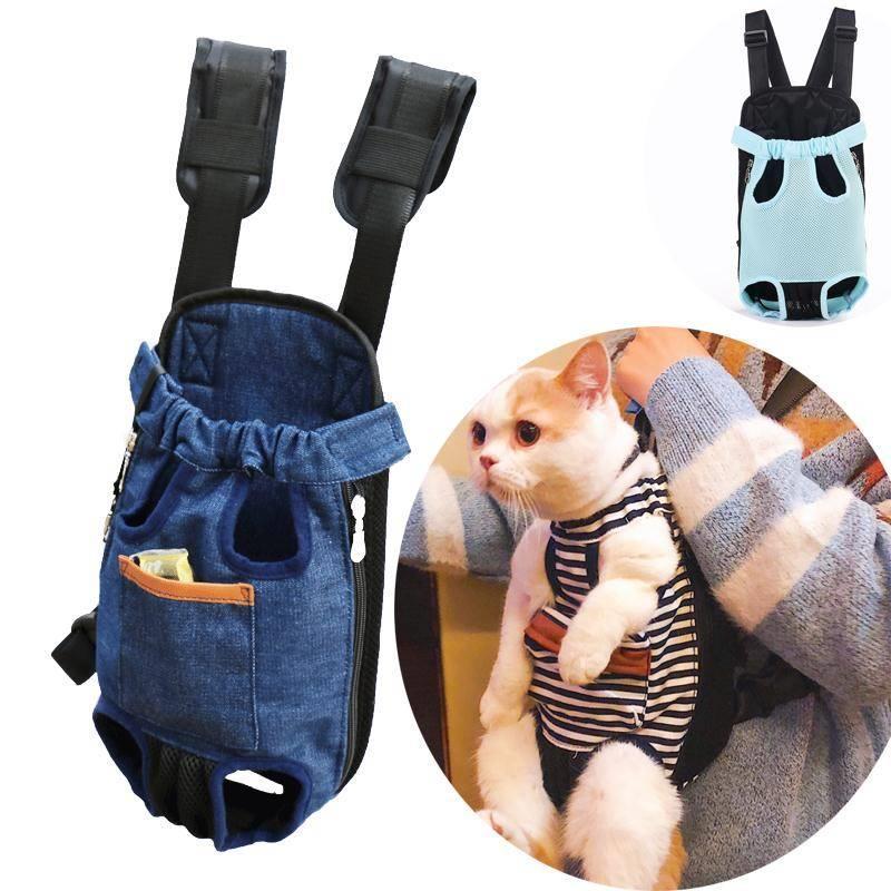 狗狗背包外出双肩宠物便携包胸前外带包泰迪狗包猫袋猫包猫咪背带
