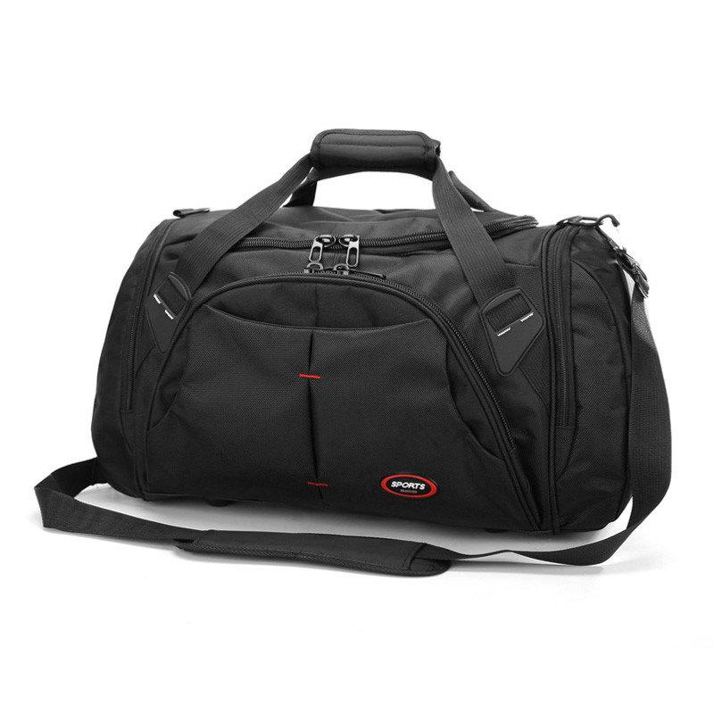 旅行包男大容量旅游手提短途单肩商务多功能独立鞋位行李旅行袋