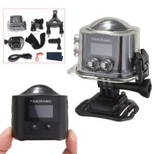 360 Degree Panoramic Camera 3D VR Action Sports Cam Wifi 16M