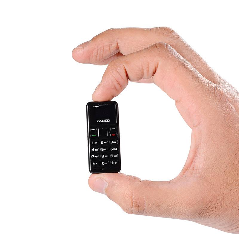 新款Zanco Tiny T1微型袖珍拇指手机迷你直板电话便携超小备用机