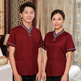 保洁服短袖夏季酒店宾馆客房清洁员物业工作服短袖夏装PA阿姨制服