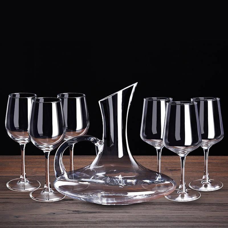 欧式 高架红酒杯一个 1支 单个水晶杯红酒杯单只红酒杯薄口 超薄