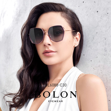 Bolon Tyrannosaurus 2020 new sunglasses trend polygon sunglasses metal frame polarized glasses female bl6088