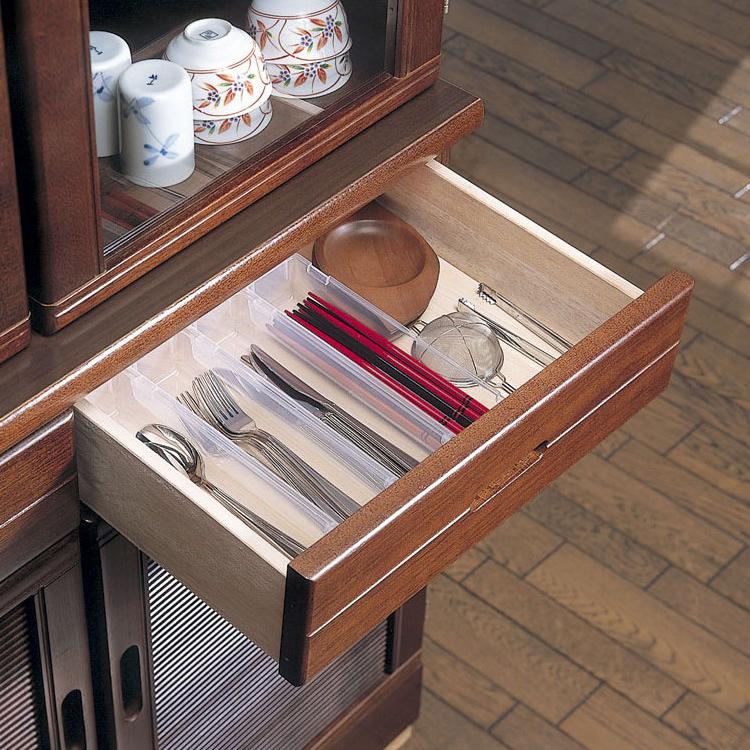 日本进口精工Sanada 厨房抽屉收纳盒3个组 连接餐具收纳盒 整理盒