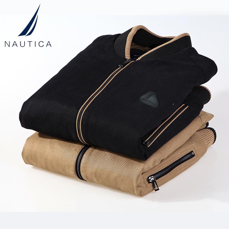NAUTICA/诺帝卡男装2020秋冬新款男士休闲厚夹克棉衣外套