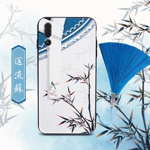 buer故宫mate9海兰10pro中国复古风p10plus华为P20手机壳女潮