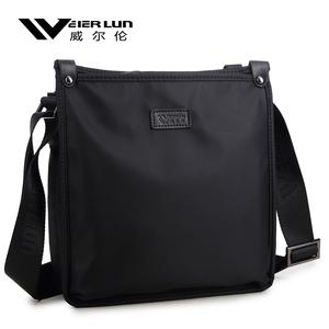 Willen men's bag shoulder bag men's messenger bag business casual Oxford cloth canvas bag diagonal small backpack tide