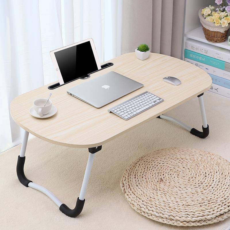 床上用笔记本电脑做桌可折叠懒人宿舍学习小桌板学生写字桌寝室