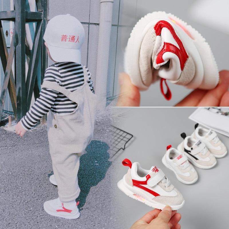 寶寶鞋子男1-3歲學步鞋春秋季0一2軟底嬰兒棉鞋新款男童運動鞋女