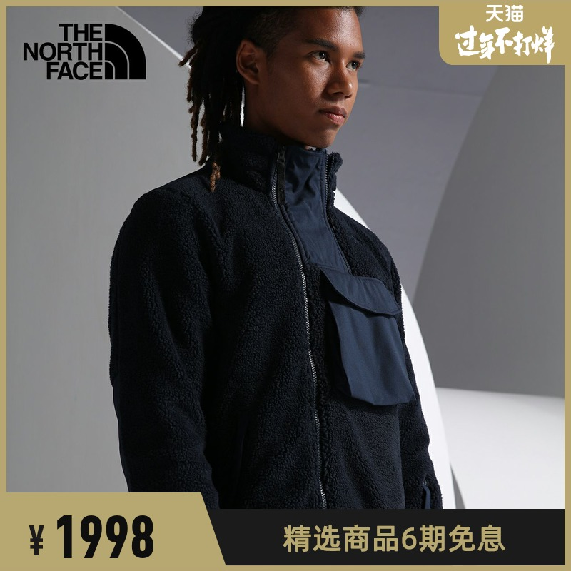 TheNorthFaceUE北面CITY S3 CARGO FLEECE JKT男抓絨衣保暖|46DU