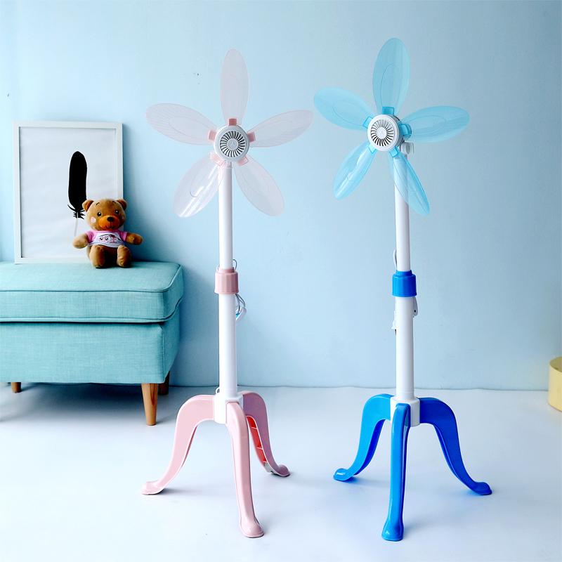 小电风扇学生女夏家用站立式落地遥控静音家用机械式床头迷你风扇