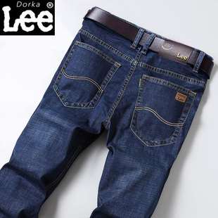 夏季新款男士牛仔裤薄款弹力修身直筒宽松商务休闲长裤子韩版潮流