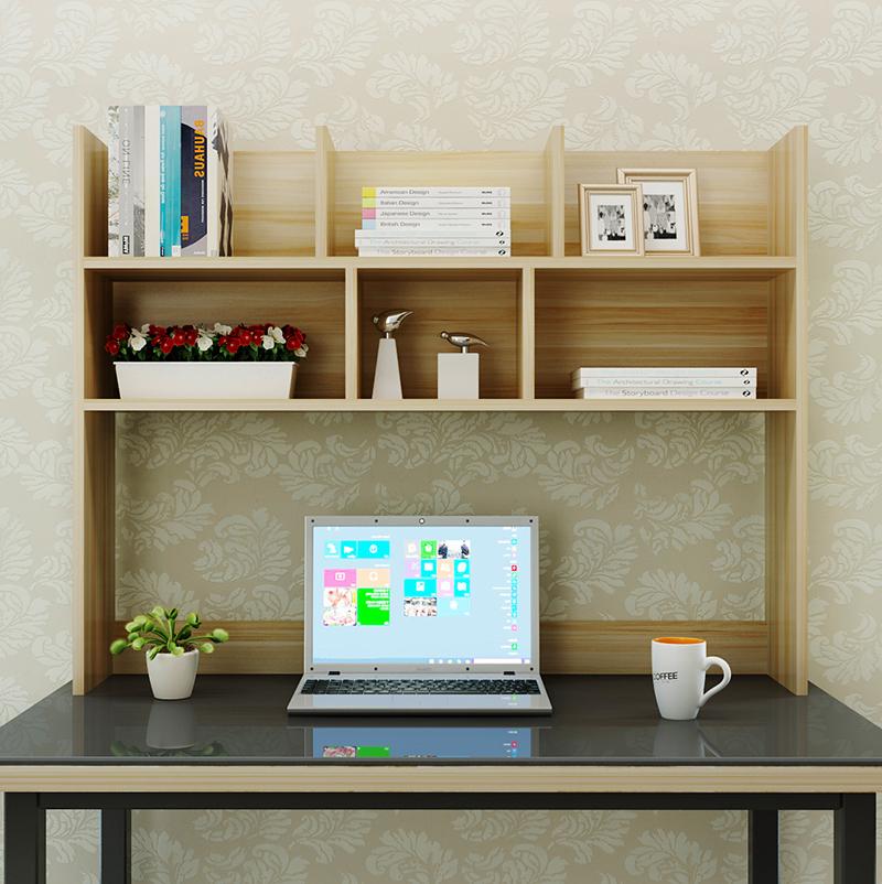点击查看商品:简易桌上书架置物架学生宿舍桌面书架现代简约收纳架电脑书架