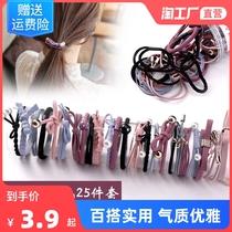 韩版INS头绳网红发圈橡皮筋扎头发皮套头饰成人学生简约时尚发绳